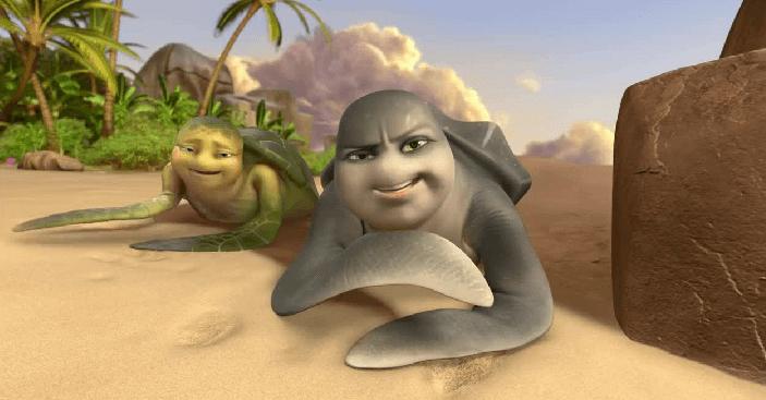 dubbing Turtle vision