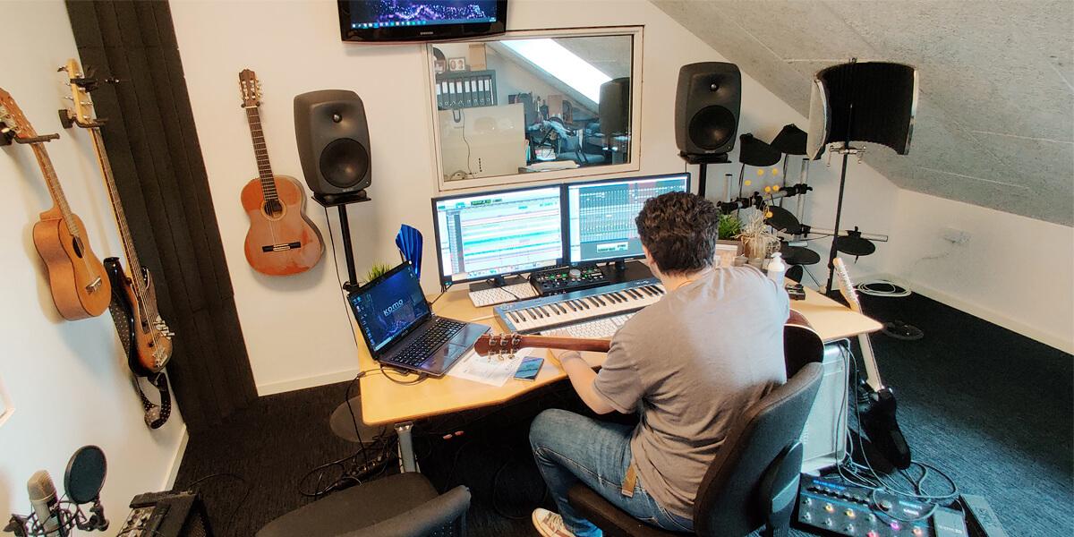 Praktik Lydproduktion