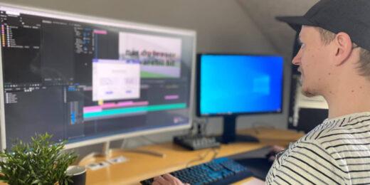 Videoproduktion i studie 4