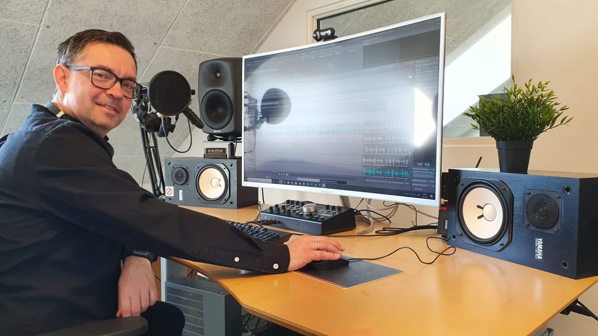 Studie 2 Radiospots og speaks