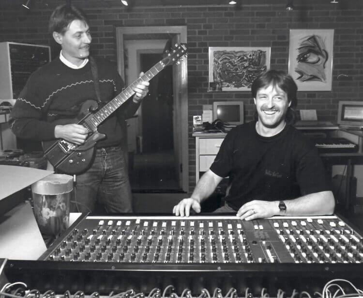 Lydproduktion hos KOMO